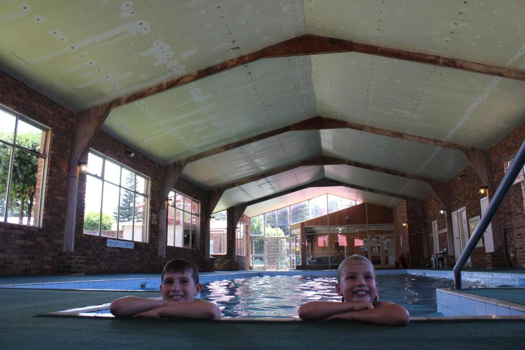 The swimming pool at or near BIG4 Warrnambool Figtree Holiday Park