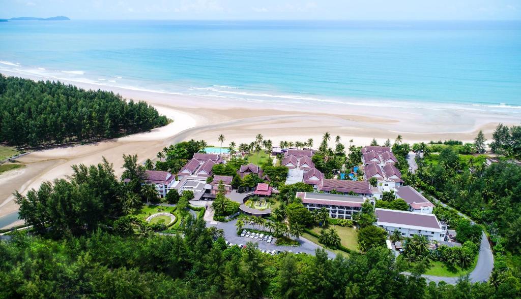 Vaade majutusasutusele Apsara Beachfront Resort & Villa linnulennult