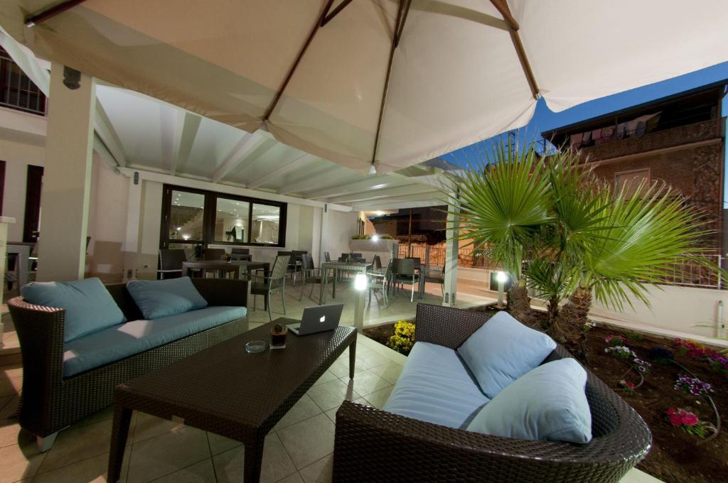Zona de estar de Alaba Hotel