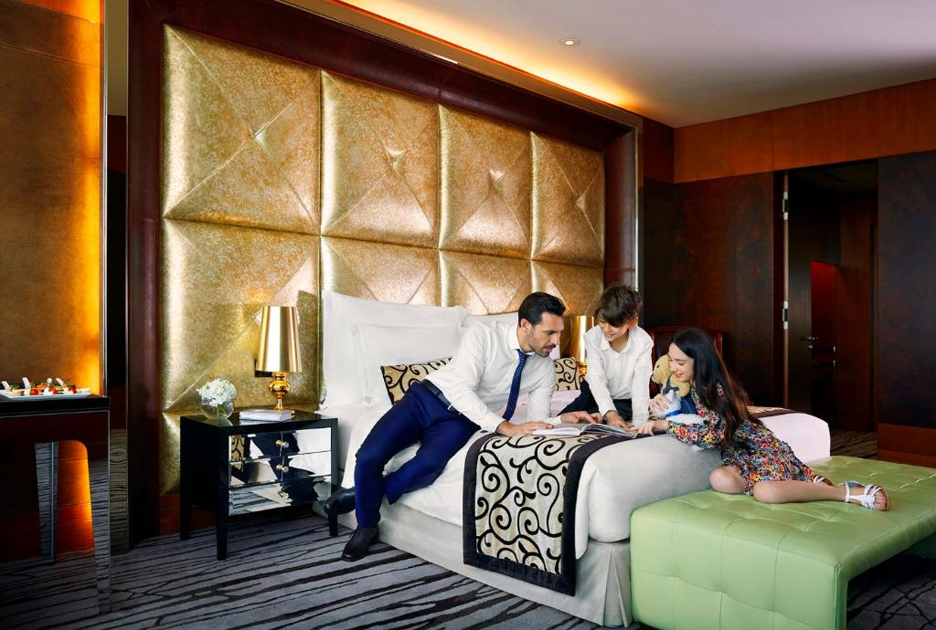 Guests staying at The Meydan Hotel