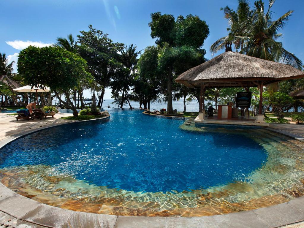 The swimming pool at or near Puri Bagus Lovina