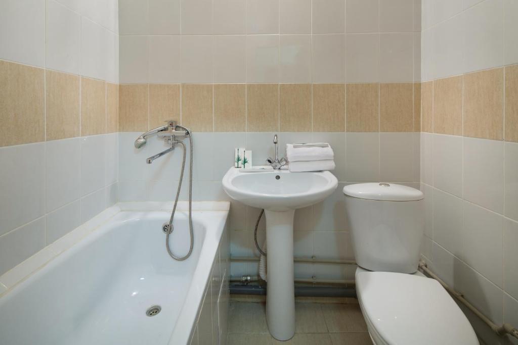 Ванная комната в Hostel RAMN