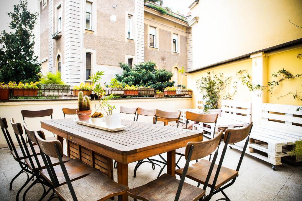 Ресторан / где поесть в Rome Experience Hostel