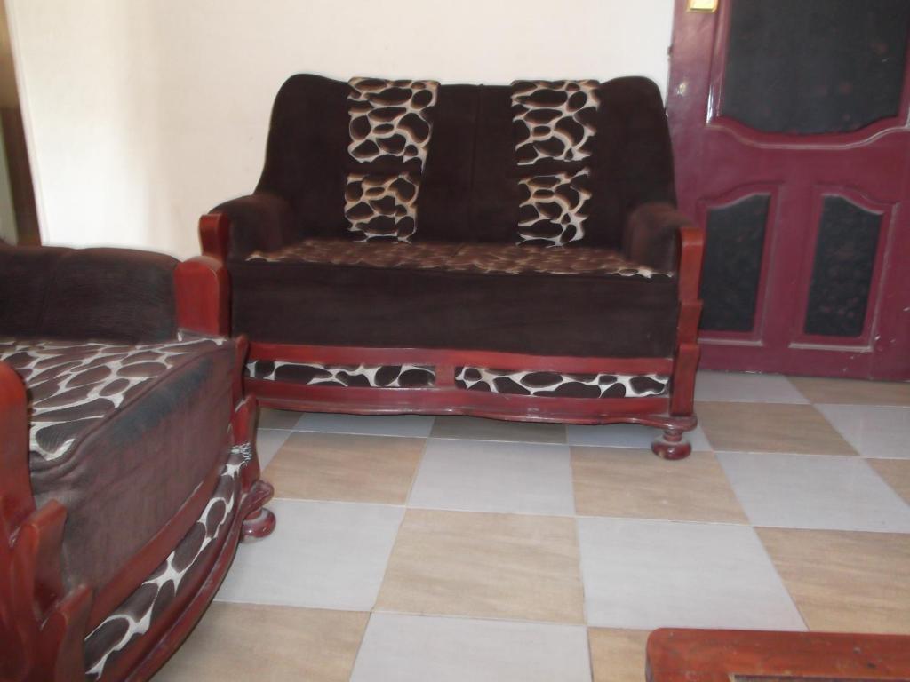 A seating area at Bob Marley Inn