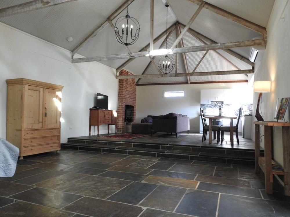 The lobby or reception area at Grape Pickers Cottage