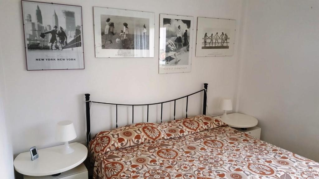A bed or beds in a room at Casa Venezia 5