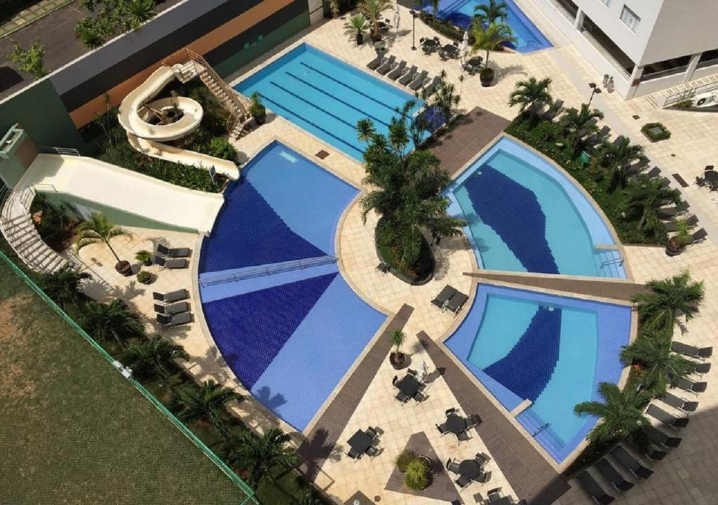 A view of the pool at RQ Turismo Apartments Veredas or nearby