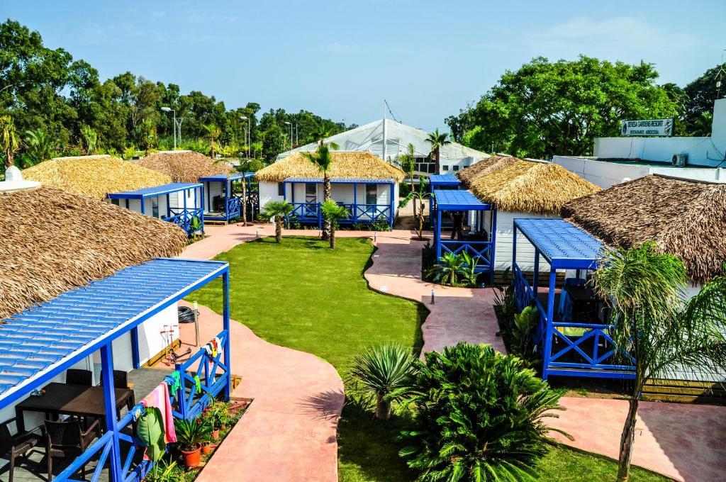 Children's play area at Devesa Gardens