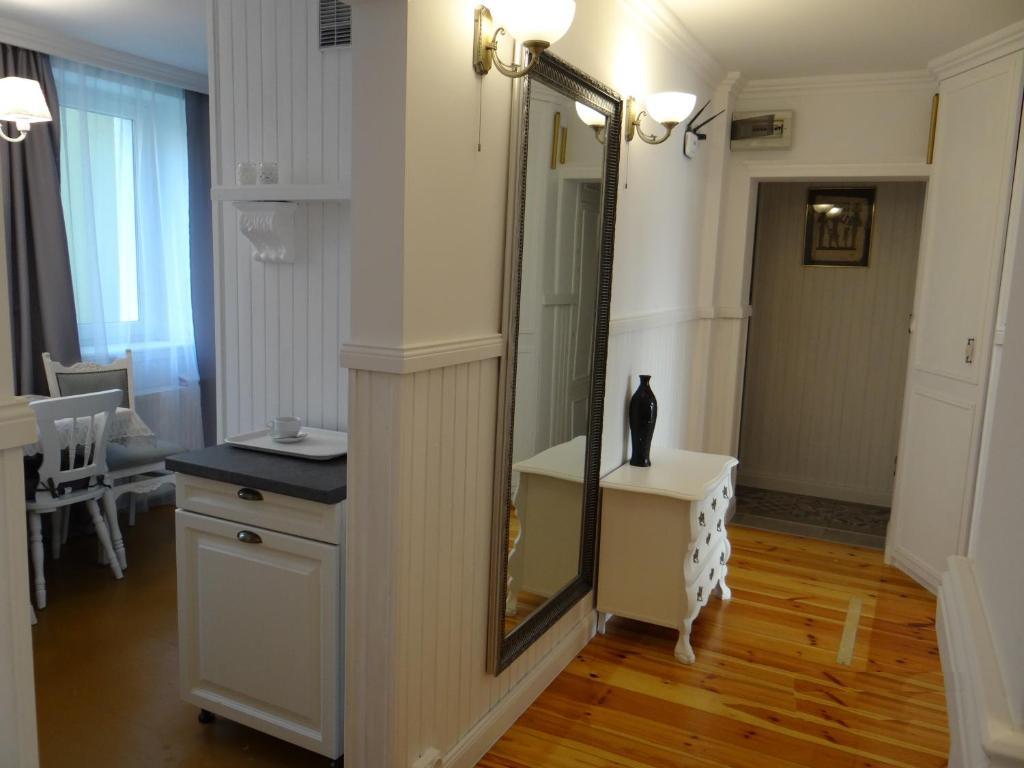 A seating area at Biały Apartament 6-8 osób plus dostawka