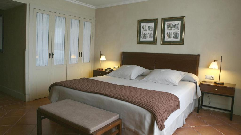 Cama o camas de una habitación en Bremon