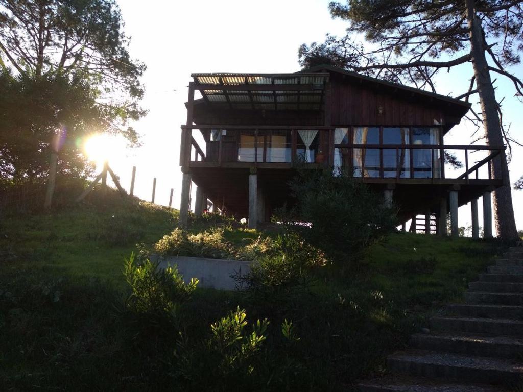 Cabaña En La Playa Ventanales Y Terraza Al Mar Salinas