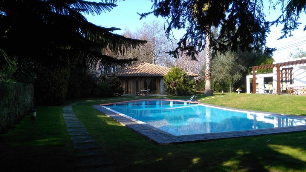The swimming pool at or near Casa da Boavista