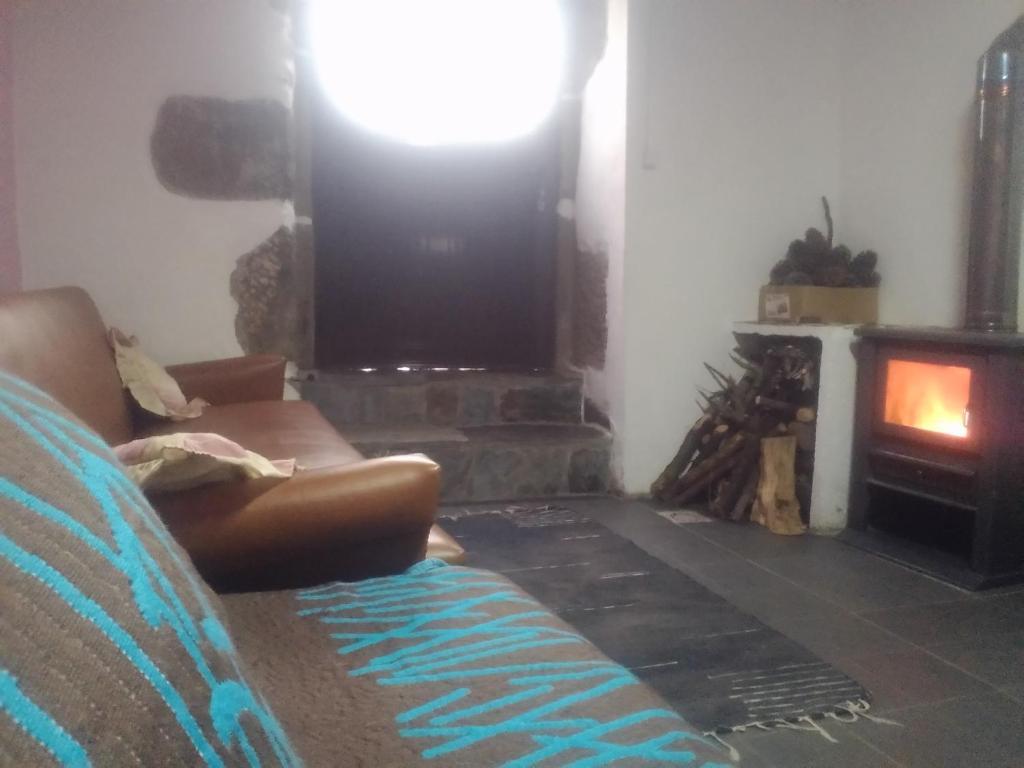 Uma área de estar em Casa da Ti Maria