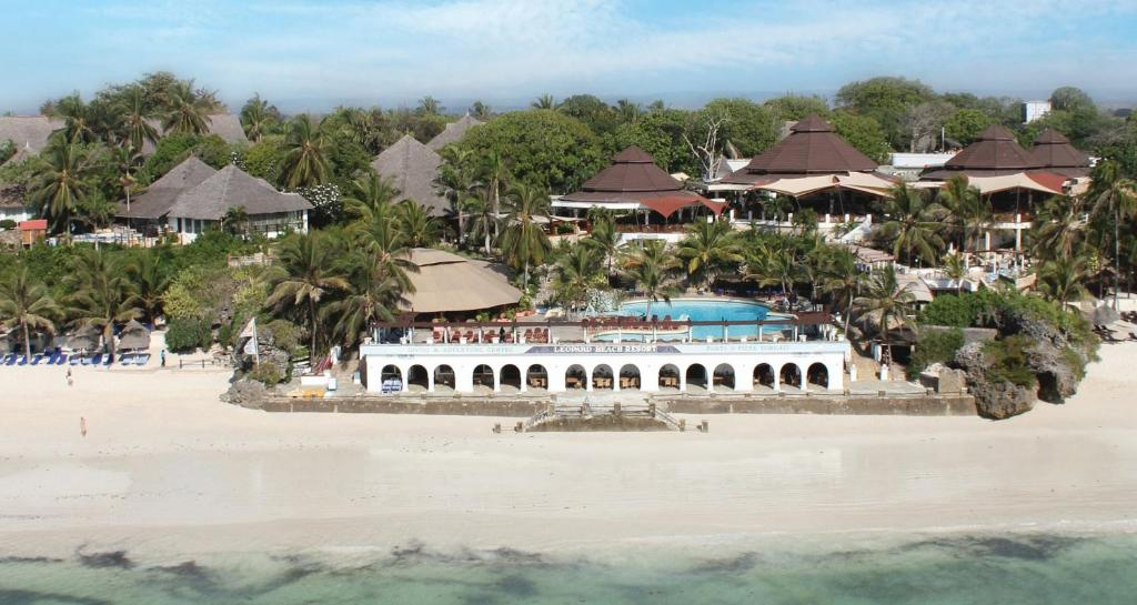 A bird's-eye view of Leopard Beach Resort and Spa