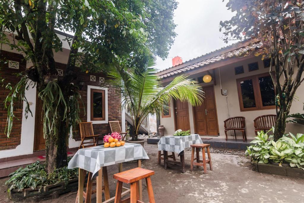 Un restaurante o sitio para comer en Ndalem Pathuk