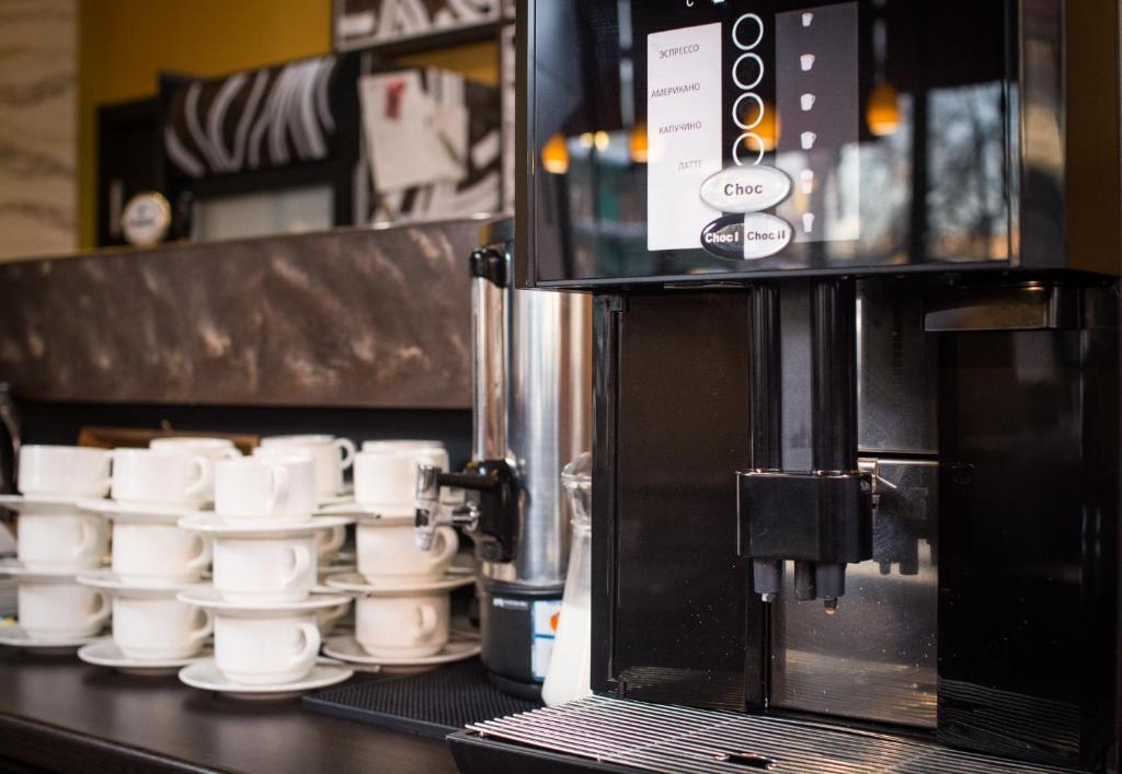 Принадлежности для чая и кофе в Отель Раймонд
