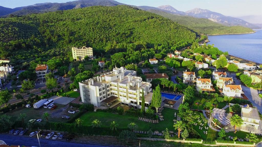 Hotel Akbulut & Spa с высоты птичьего полета