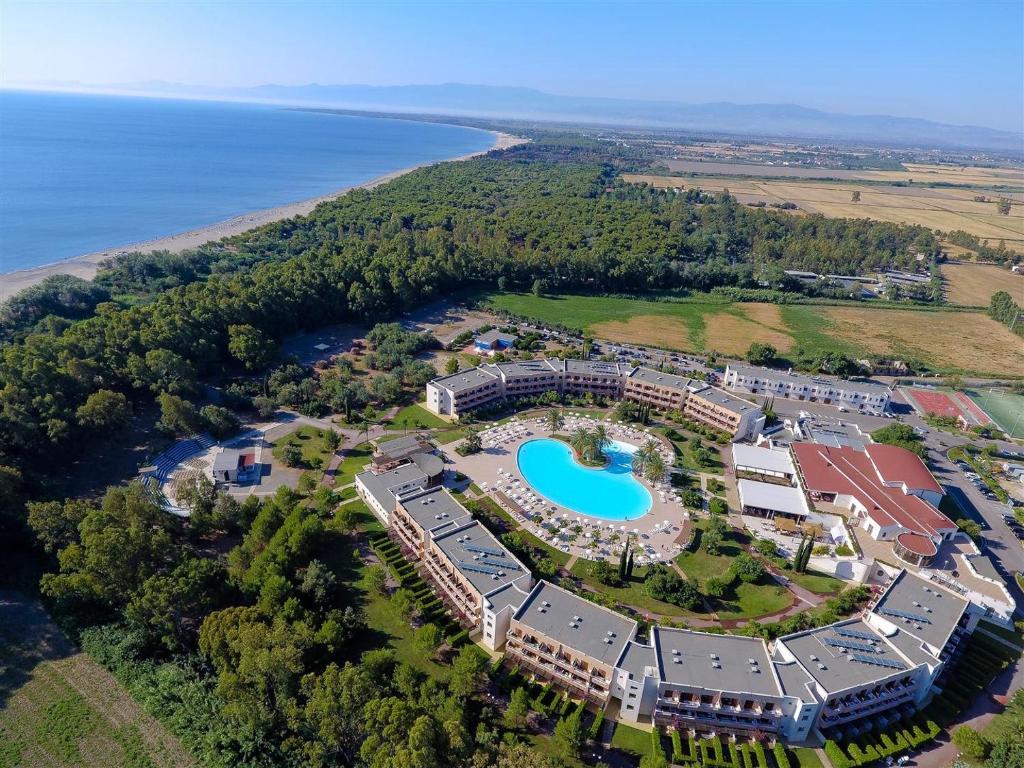 Valtur Calabria Otium Resort с высоты птичьего полета