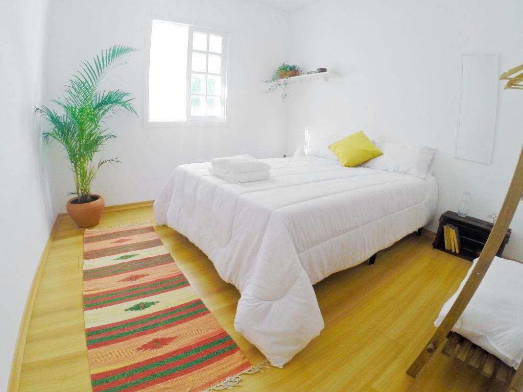 Cama o camas de una habitación en Tio Zaca Hospedaria