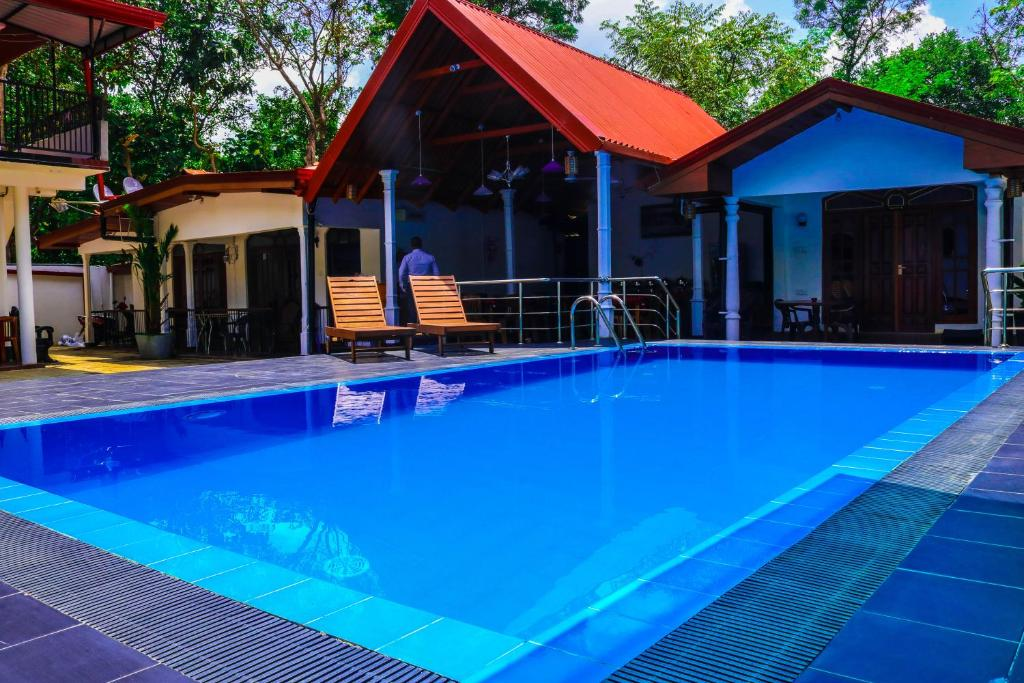 The swimming pool at or near Sevonrich Holiday Resort