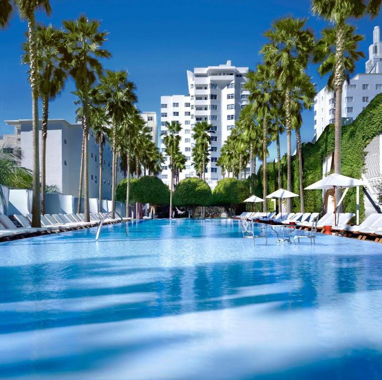The swimming pool at or near Delano South Beach
