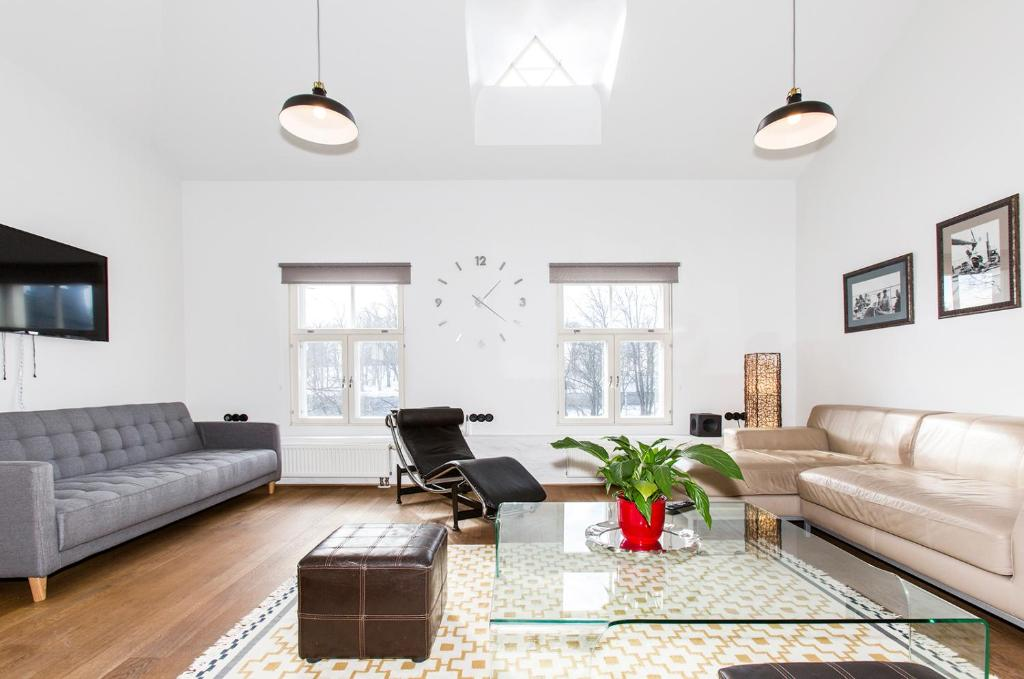 Oleskelutila majoituspaikassa Tallinn Sea Side and City Apartments
