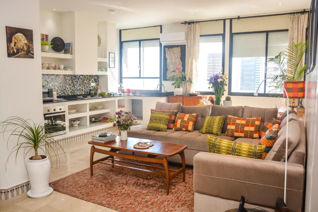 Appartement moderne moroccan/African décoration (Maroc ...