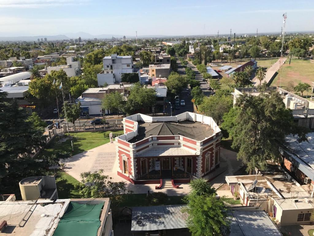 Una vista aérea de Mendoza Green