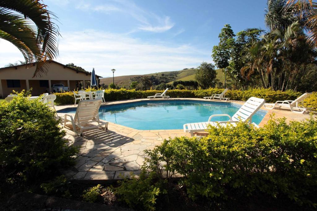The swimming pool at or near Sitio Morro Alto