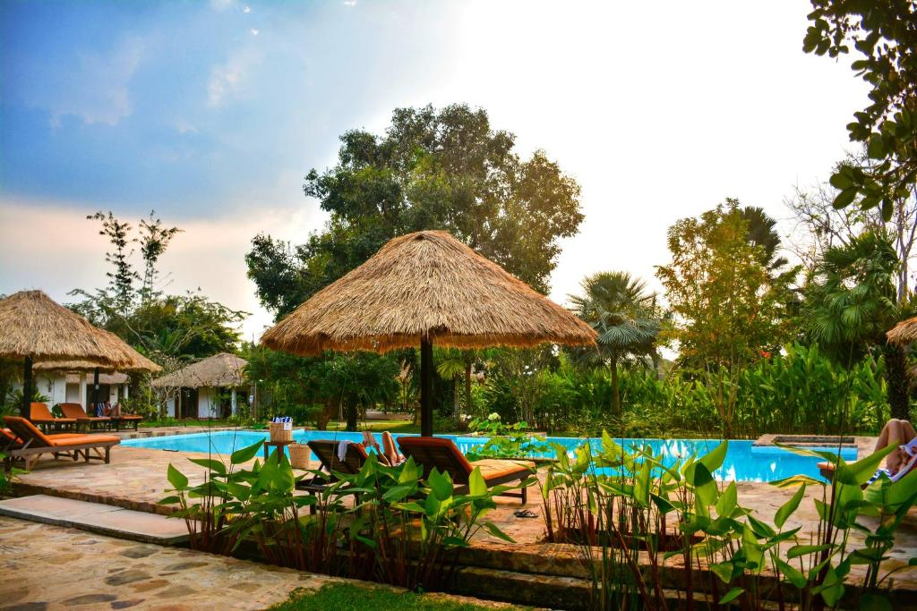 The swimming pool at or near Villa Kep Resort - Adult only
