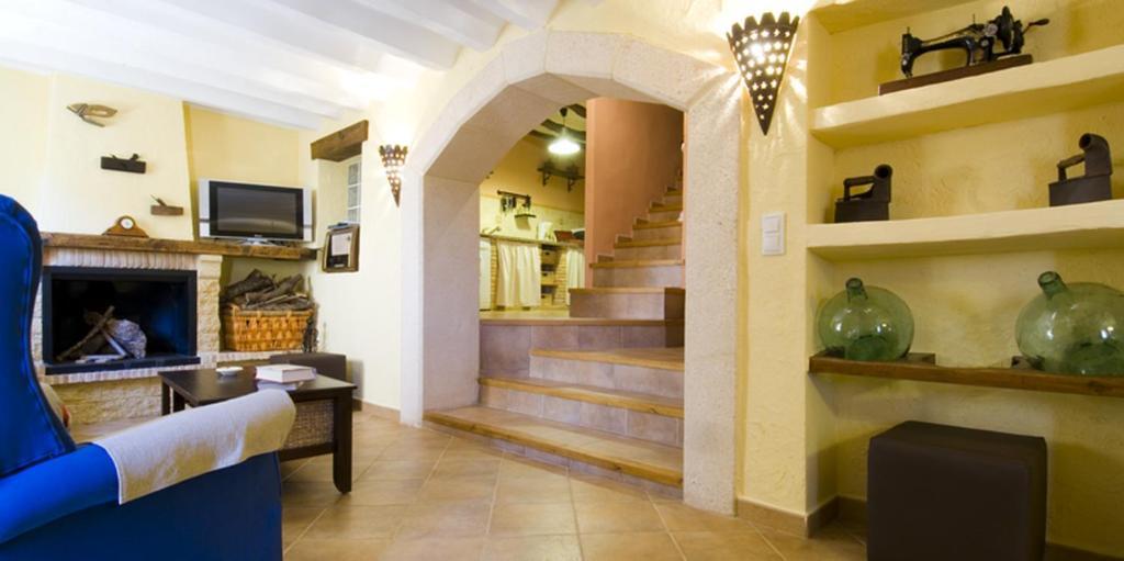 Un lugar para sentarse en Casas Rurales de Vicorto