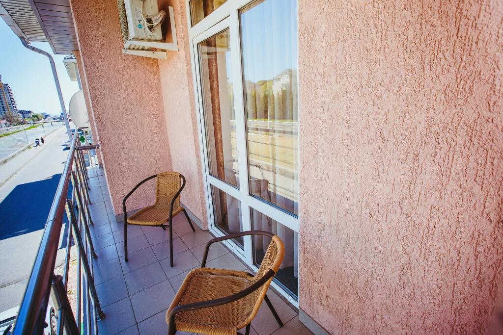 Балкон или терраса в Гостевой дом «Атланта»