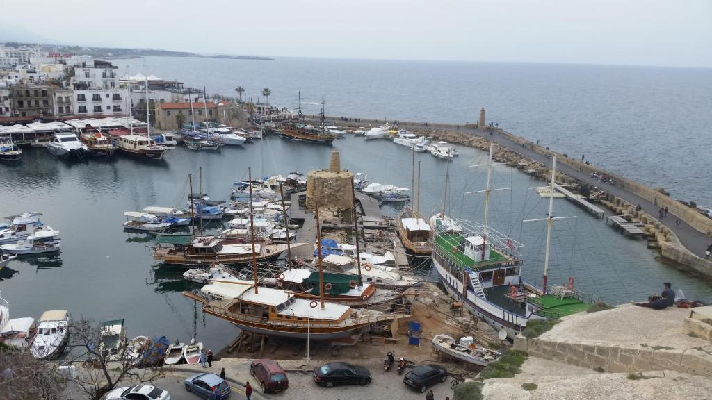 A bird's-eye view of Kyrenia Reymel Hotel
