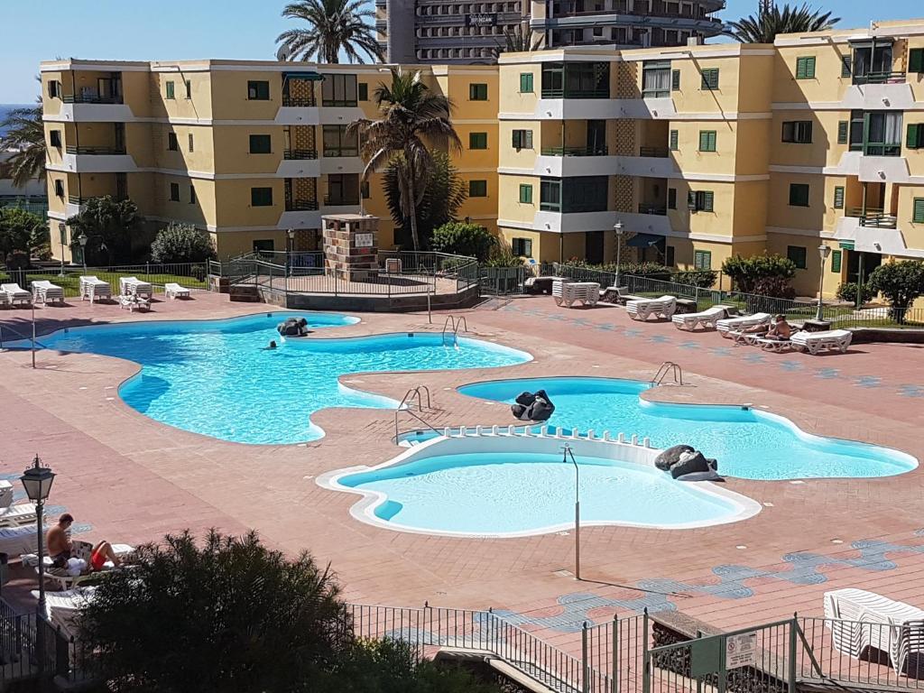Kolam renang di atau dekat dengan Apartamento Classic England