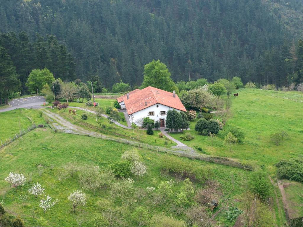 A bird's-eye view of Hotel Rural Natxiondo