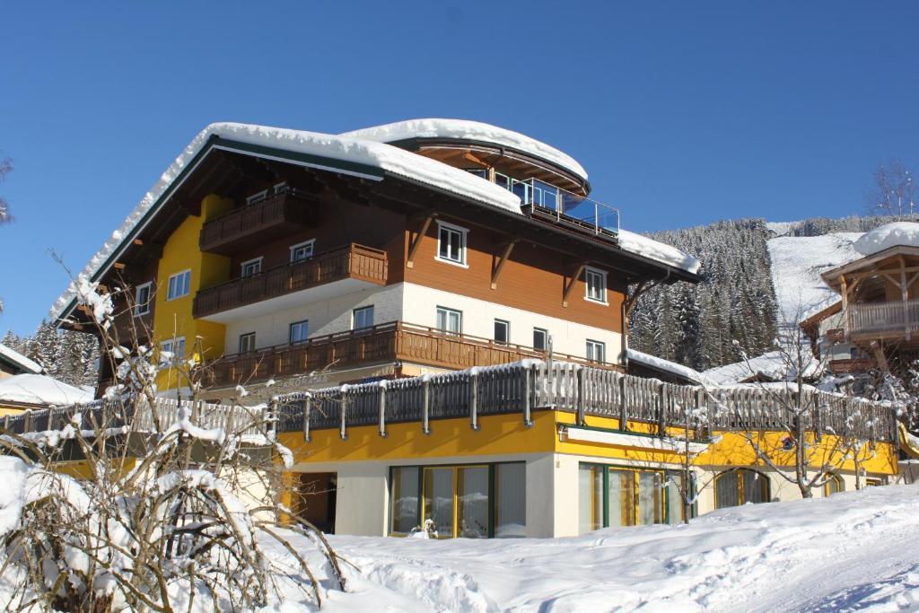 Pension Panorama v zime