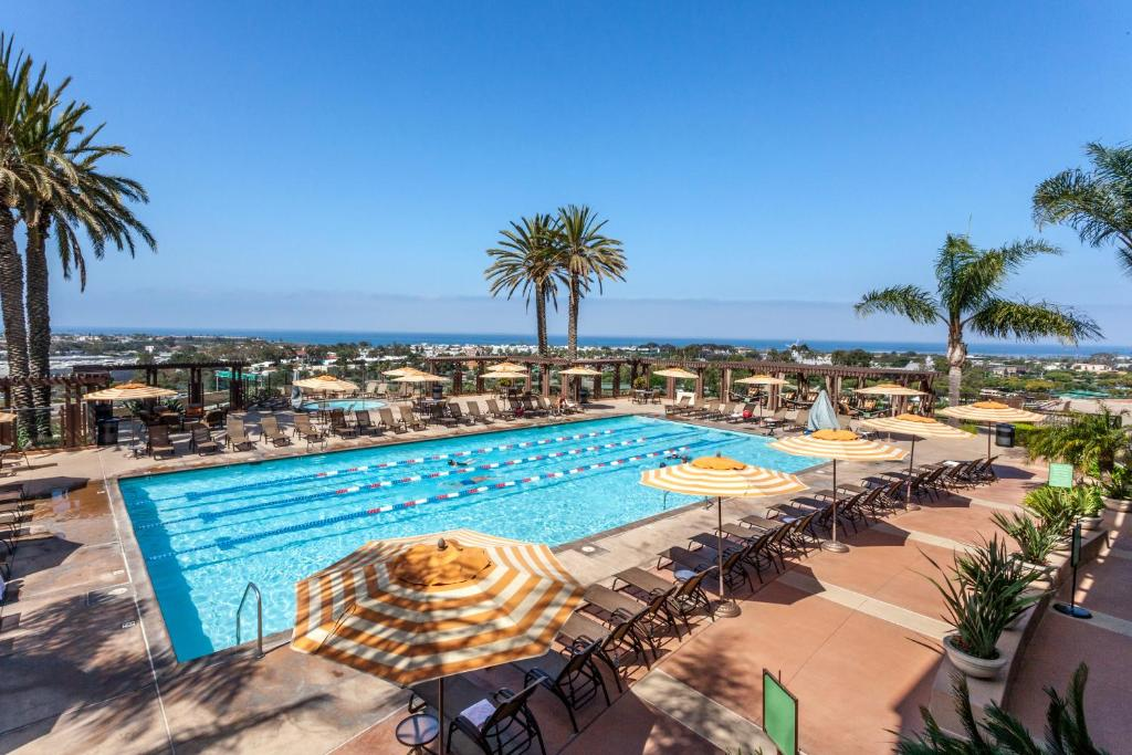 A view of the pool at Grand Pacific Palisades Resort or nearby
