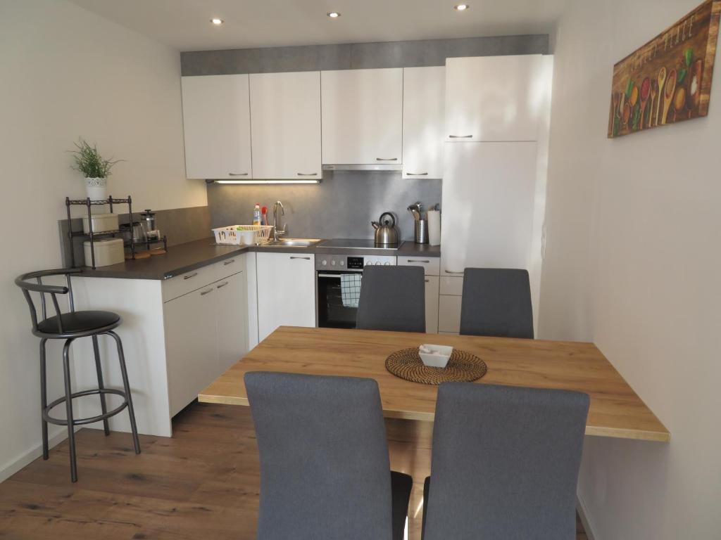 Küche/Küchenzeile in der Unterkunft Apartment Sbg Hbf (127)