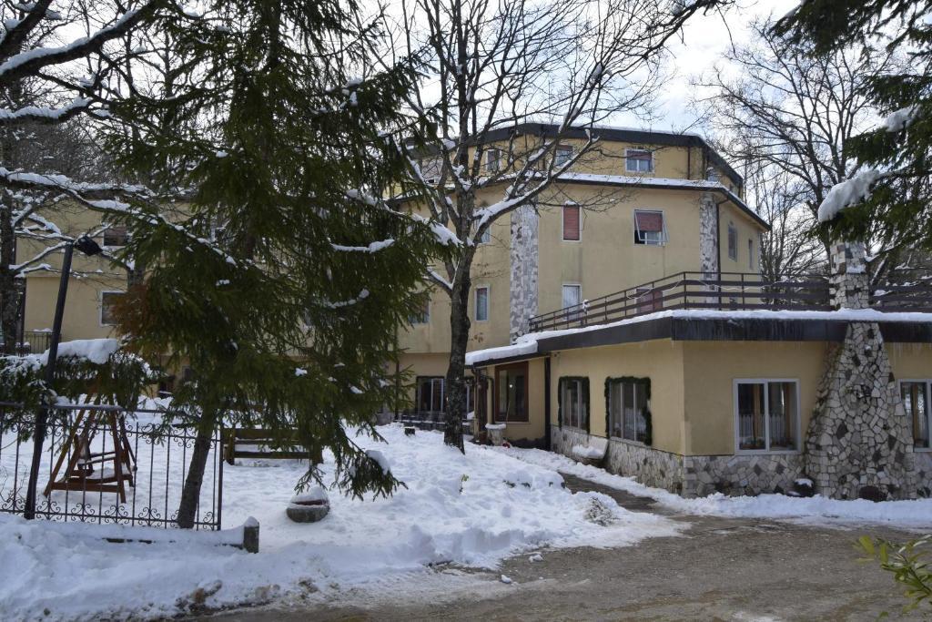 Albergo Del Sole during the winter