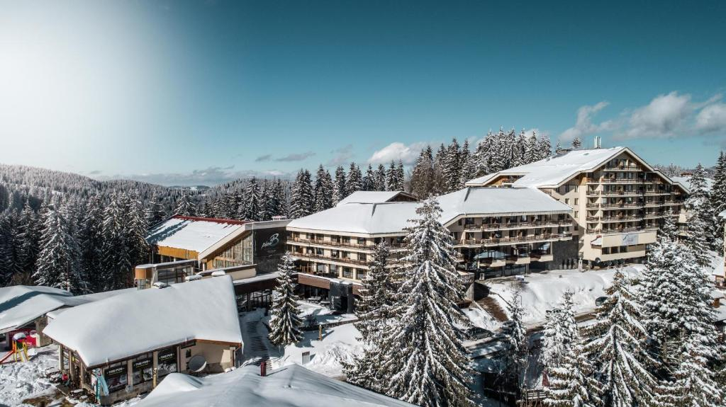 Perelik Hotel during the winter