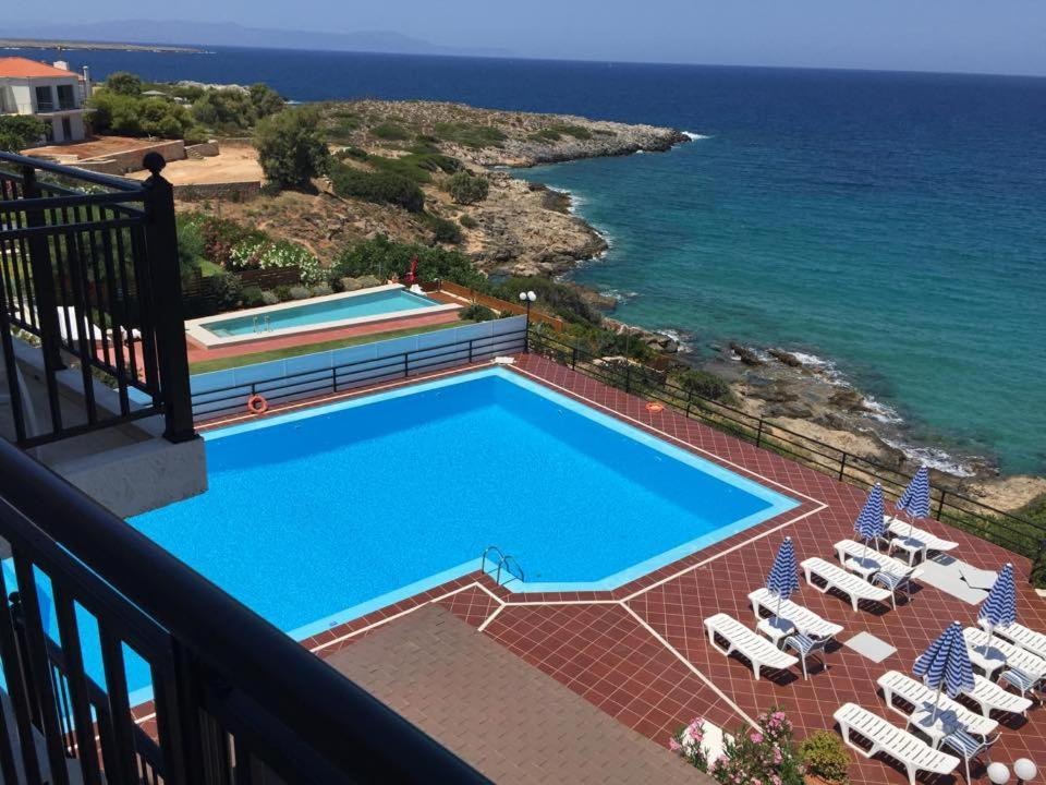 A view of the pool at Lena Beach Hotel or nearby
