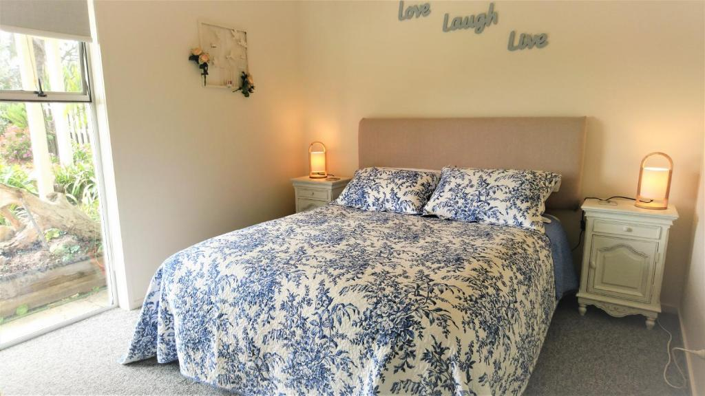 Posteľ alebo postele v izbe v ubytovaní D'Urville House B & B