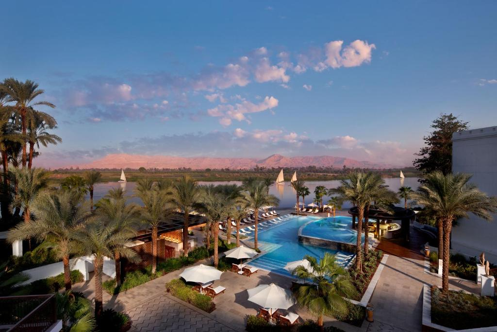 A view of the pool at Hilton Luxor Resort & Spa or nearby