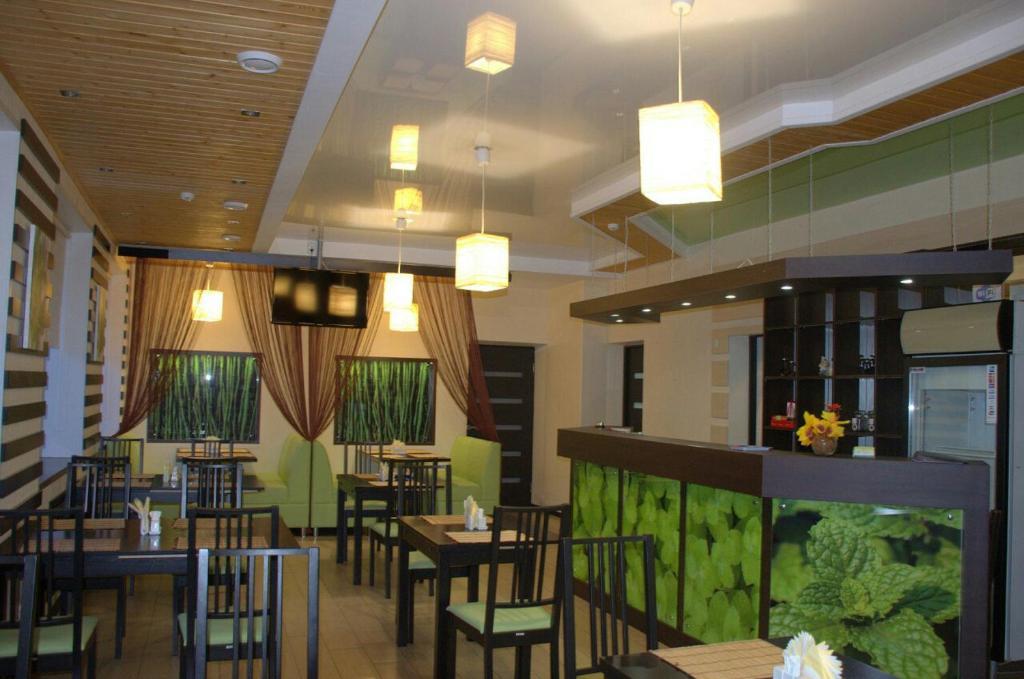 Лаундж или бар в Гостиница Веда