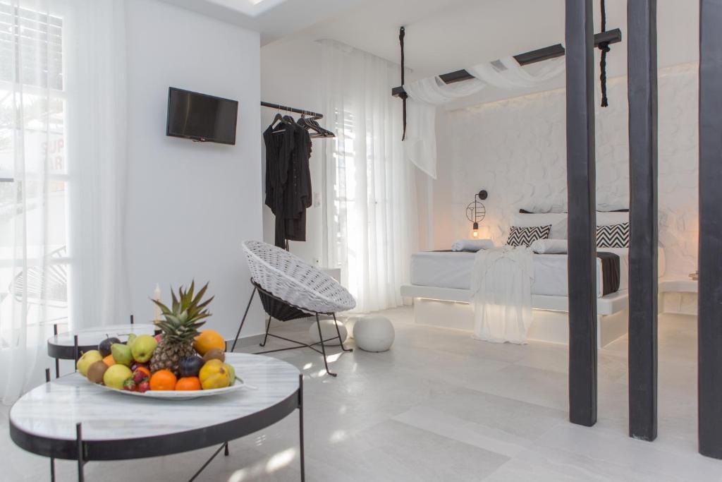A bathroom at Studios Panos