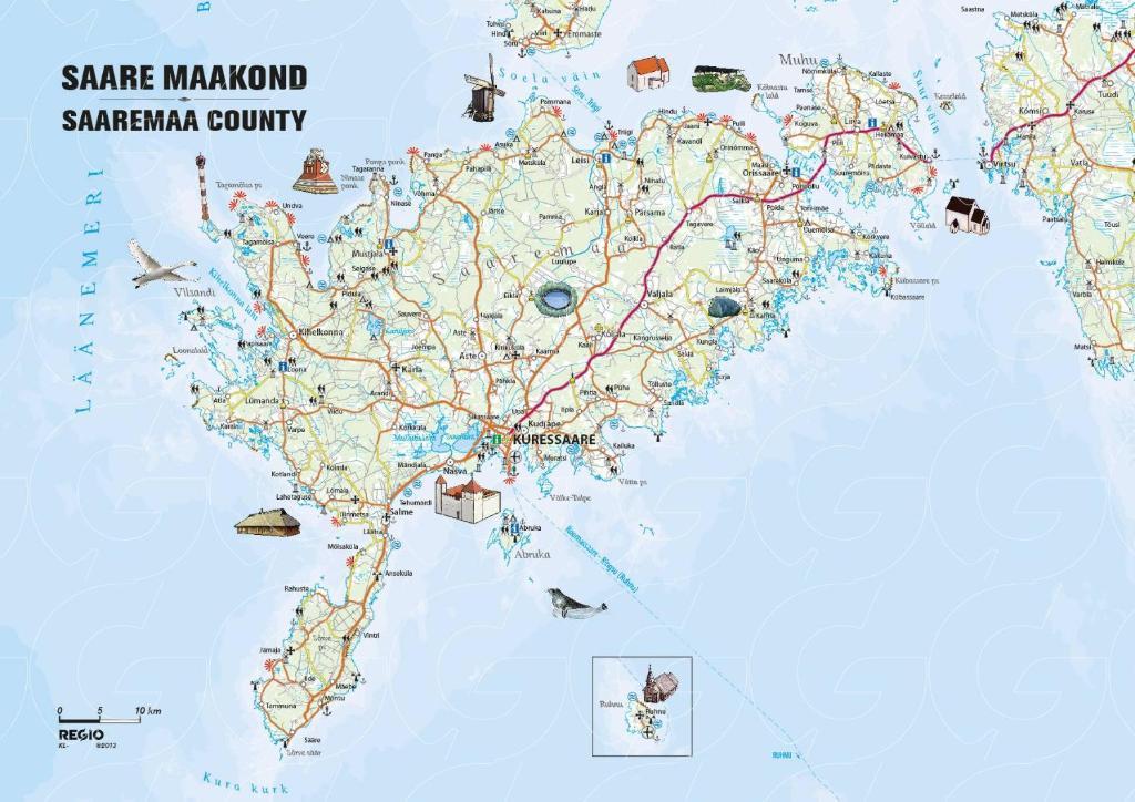 Luontoharrastajan Paratiisisaari The Baltic Guide Onlinethe