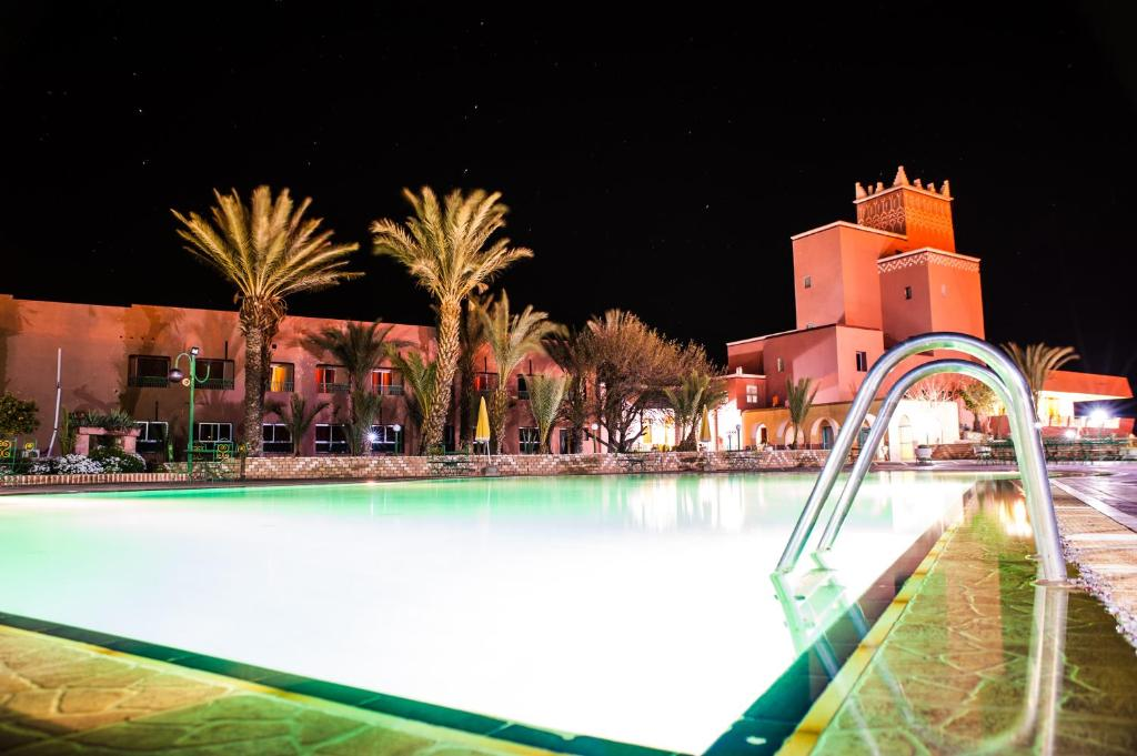 The swimming pool at or near Hotel Saghro