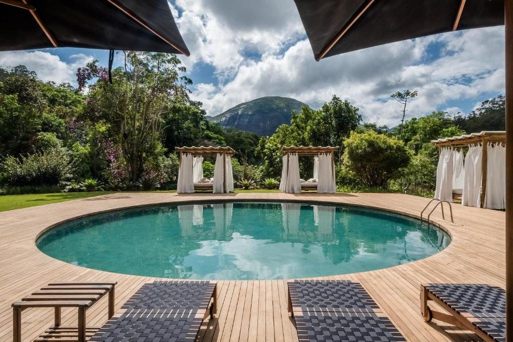 A piscina localizada em Pousada Tankamana ou nos arredores