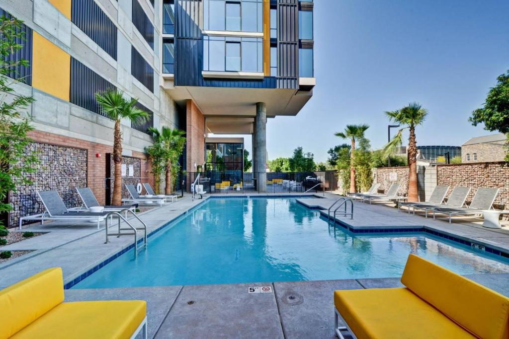The swimming pool at or near Condo in Downtown PHX