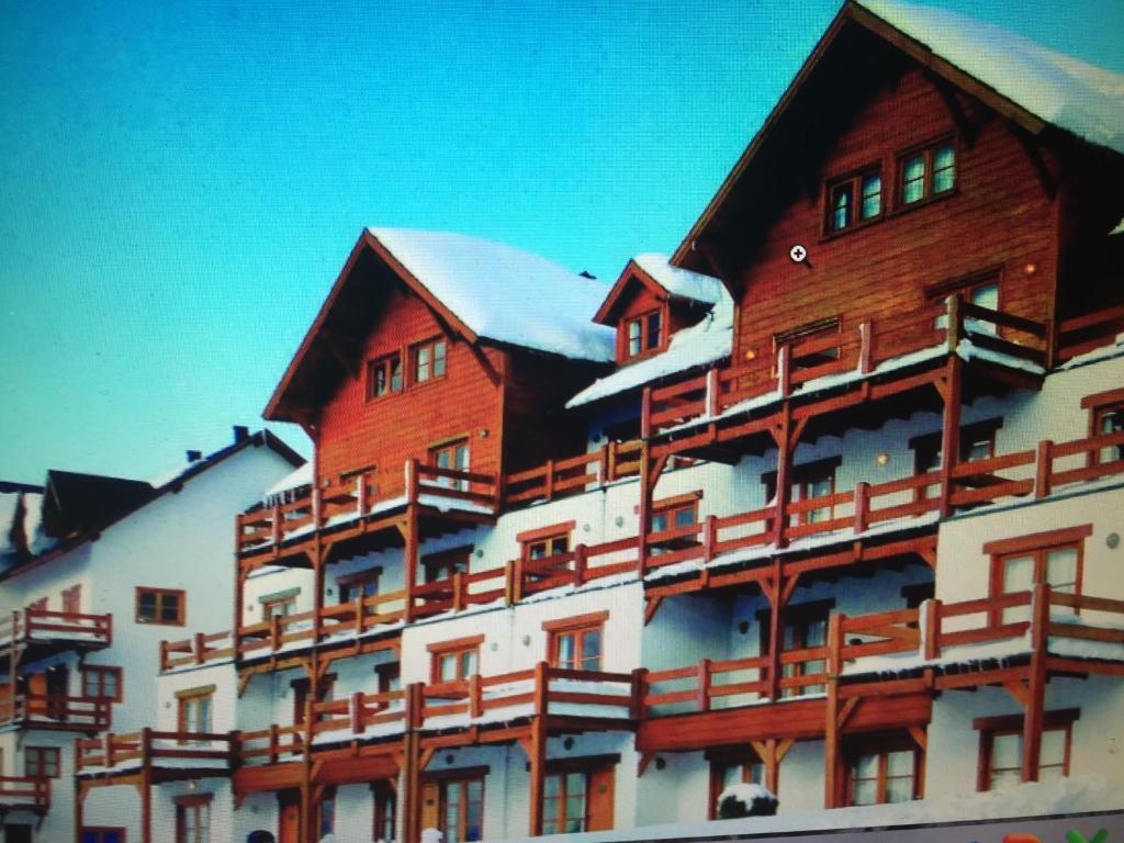 Apartamento en Hosteria del Cerro durante el invierno